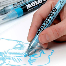 Molotow marker grafx art masking liquid pump marker  2mm 728.001