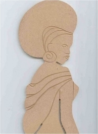 afrikaanse dame mdf22