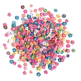 Buttons Galore Sprinkletz Embellishments 12g Garden party