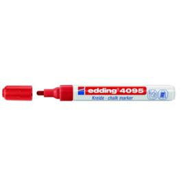edding 4095 krijtstift rood  2-3 mm 394095/0002
