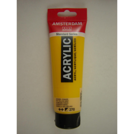 Amsterdam acrylverf tube 120ml Azogeel Donker 270