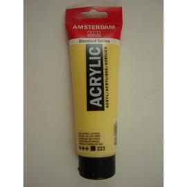 Amsterdam acrylverf tube 120ml Napelsgeel donker 223
