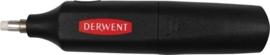 Electrische gum Derwent incl.8 replacements