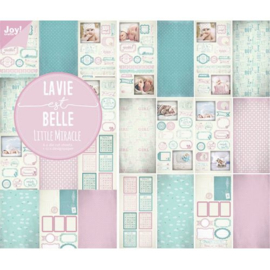 Stans-designpapierblok - Baby 6011/0384