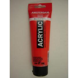 Amsterdam acrylverf tube 120ml Naftolrood Middel 396