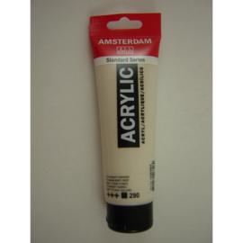 Amsterdam acrylverf tube 120ml titaanbuff Donker 290