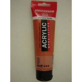 Amsterdam acrylverf Metallic tube 120ml koper 805