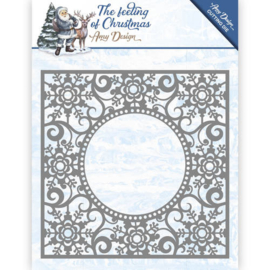 Card Deco - Amy Design - Die - The feeling of Christmas - Ice chyristal frame ADD10109