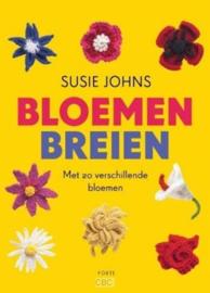 bloemen breien-met 20 verschillende bloemen- Susie Johns