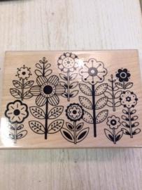 pattern flowers  K4923