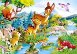 Bambi  50 x 70 cm A4-14 NIEUW!!!!!