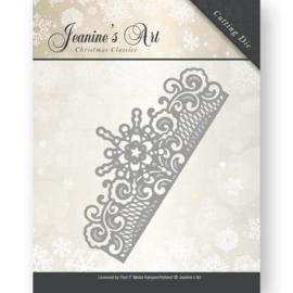 snij-en embossingstencil frozen border Christmas classics JAD10008