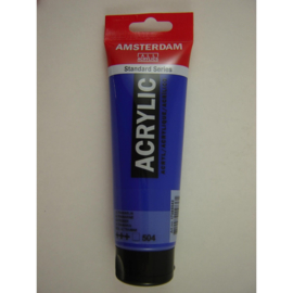 Amsterdam acrylverf tube 120ml Ultramarij 504