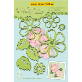 snij-embossing multi die flower 008 45.0577