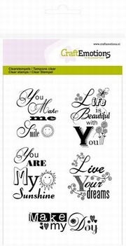 clearstamps you are my sunshine  130501/1148