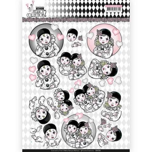 knipvel pretty poirrot collection 2 CD112556  NIEUW!!!!!