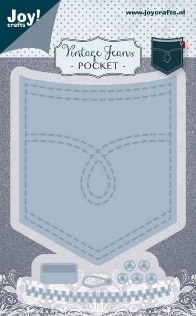 vintage jeans pocket -mal- 6002/1388