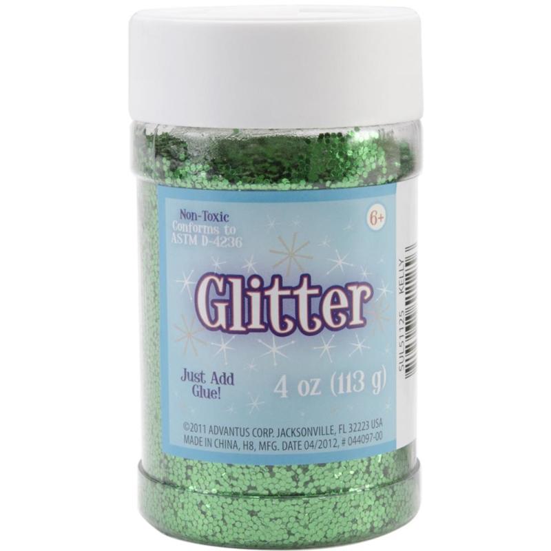 Sulyn glitter 4oz groen