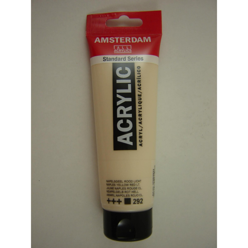 Amsterdam acrylverf tube 120ml Napelsgeel Rood Licht 292