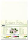 flower foam A4 Off-white 25.4124