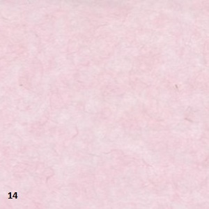 "Mulberry papier 25grams ""kozo""papier 64x47 cm licht rose (gevouwen naar ca. 21.5x15.5cm)"