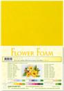 flower foam A4 Sunflower yellow 25.4155