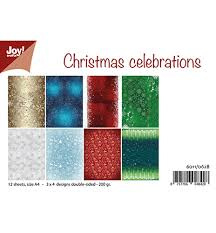 papierset Christmas Celebrations 6011/0628 NIEUW!