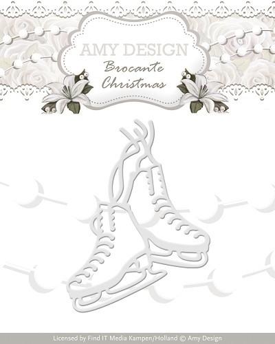 Amy design brocante christmas figure sketes add10036