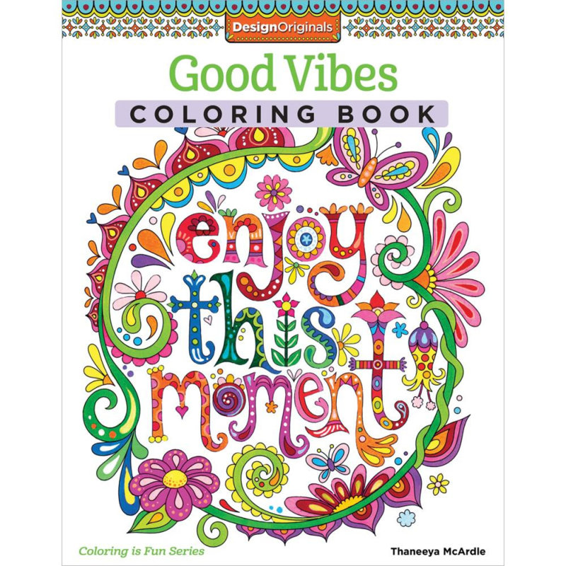 kleurboek Design Originals Good Vibes