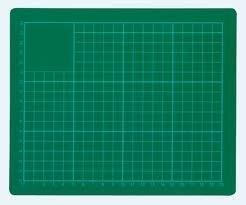 Snijmat 45x30cm groen  A3