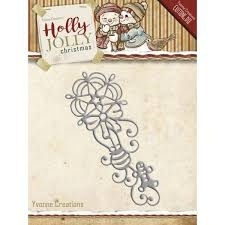 Holly Jolly ornament  YCD10071