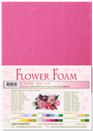 flower foam A4 Bright pink 25.4223