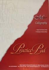 Manuscript kalligrafie practice pad MC302