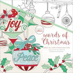 kleurboek kaiser colour words of Christmas