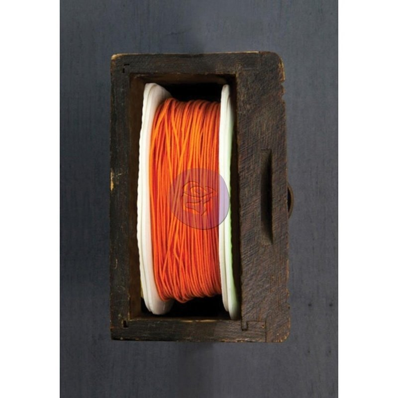 Wire Thread 25yd Coral