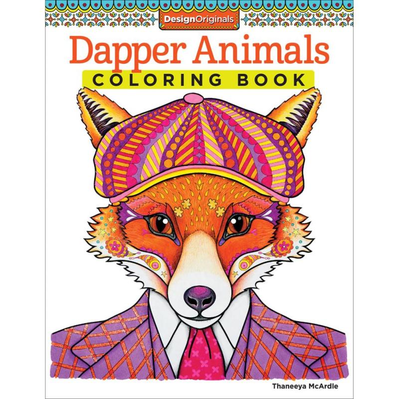 kleurboek Designs originals Dapper Animals