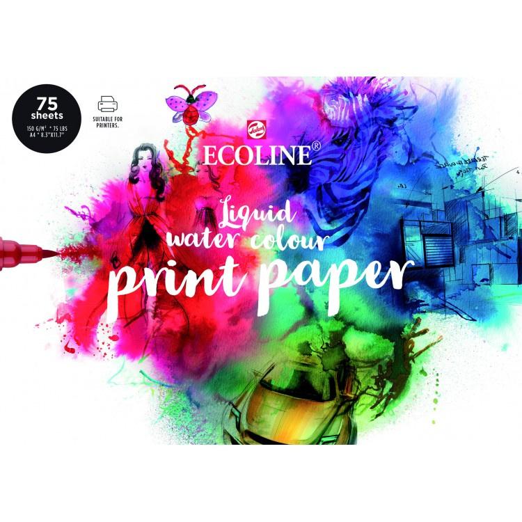 ecoline liquid water colour print paper 75 vel 150gram A4  91580002