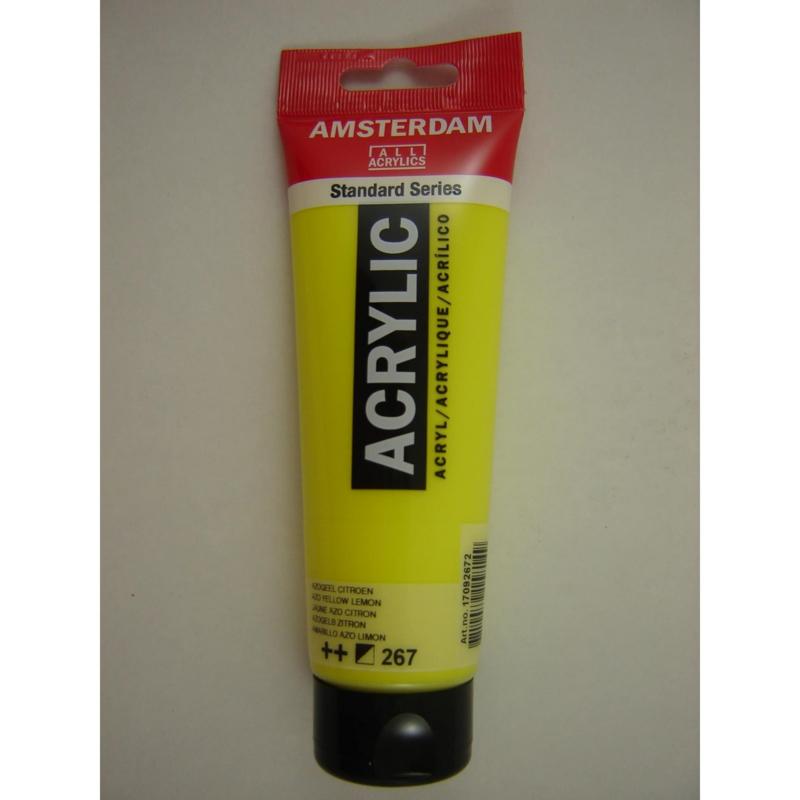 Amsterdam acrylverf tube 120ml Azogeel Citroen 267
