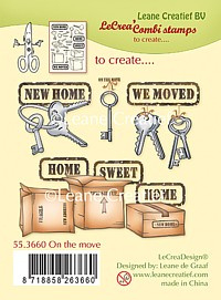 clear stamp On the move 55.3660