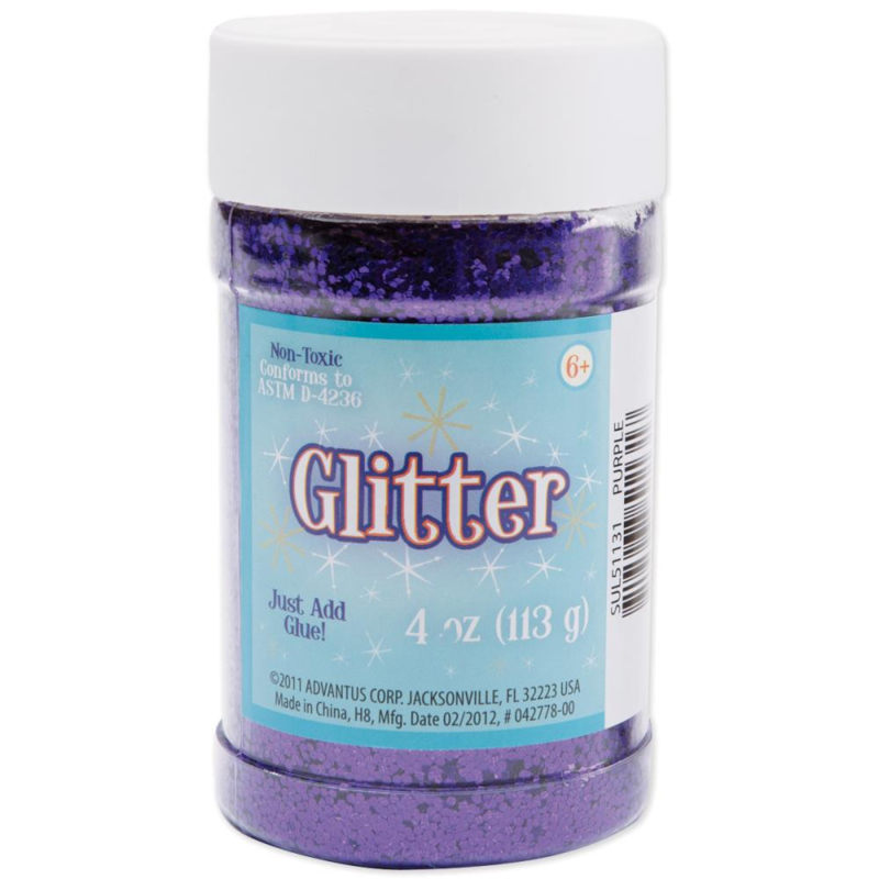 Sulyn Glitter 4oz royal purple sul51127
