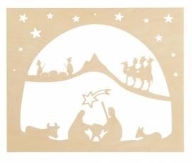 Staande decoratie  Kerst