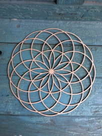 Mandala decoratie Tube Torus