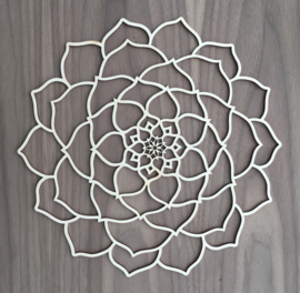 Mandala decoratie Lotusbloem