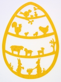 Raamhanger Pasen groot