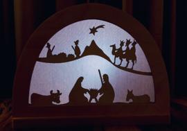 Kerst silhouet