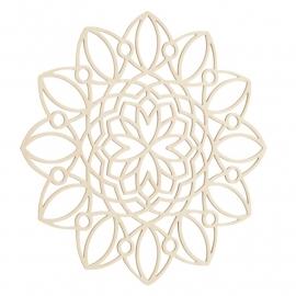 Mandala decoratie Romaans