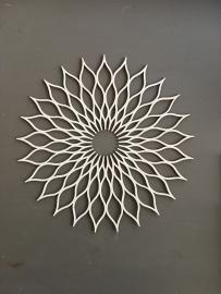 Mandala decoratie Dahlia