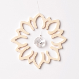 Kristalhanger Lotusbloem
