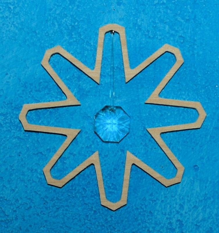 Kristalhanger Sneeuwkristal