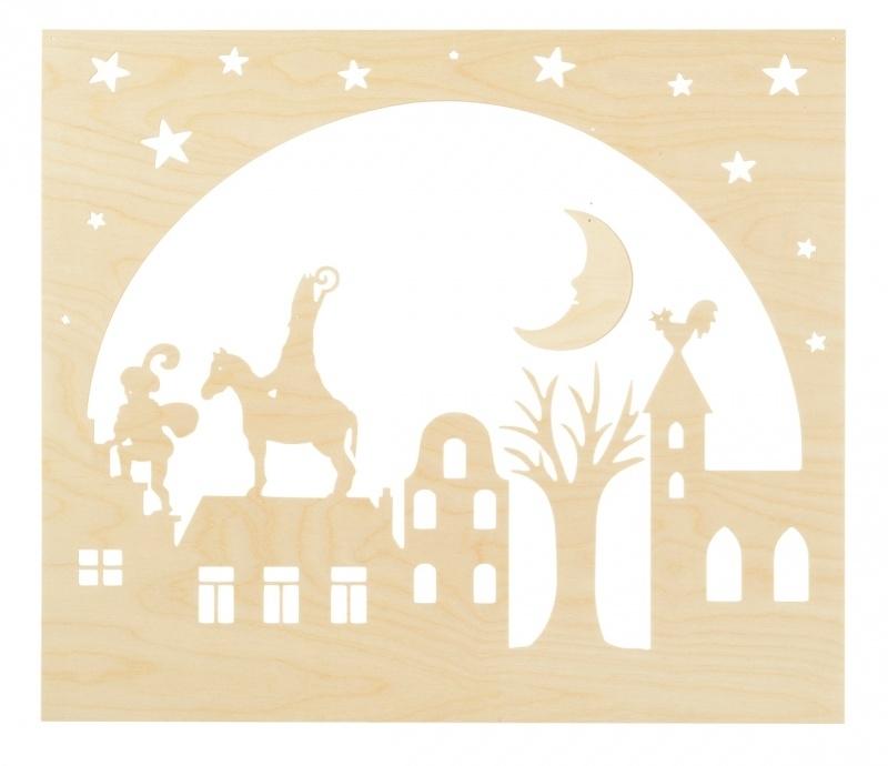Staande decoratie Sinterklaas